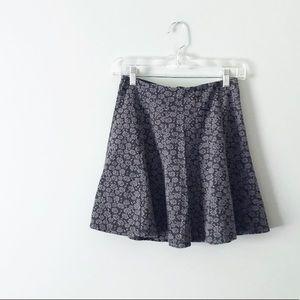 NWT Hollister Floral Jacquard Mini Skirt